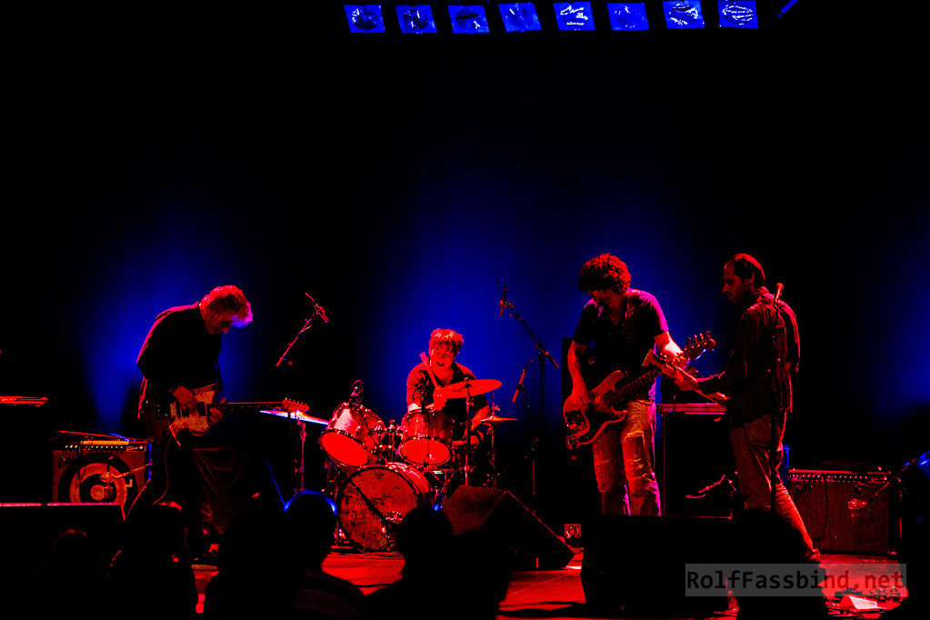 Lee Ranaldo And The Dust live at Rote Fabrik Zurich Switzerland